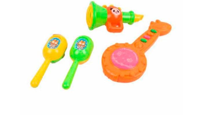 Музыкальная игрушка S+S Toys Набор музыкальных инструментов СС75451