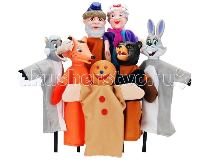 Жирафики Кукольный Театр Колобок (7 кукол)