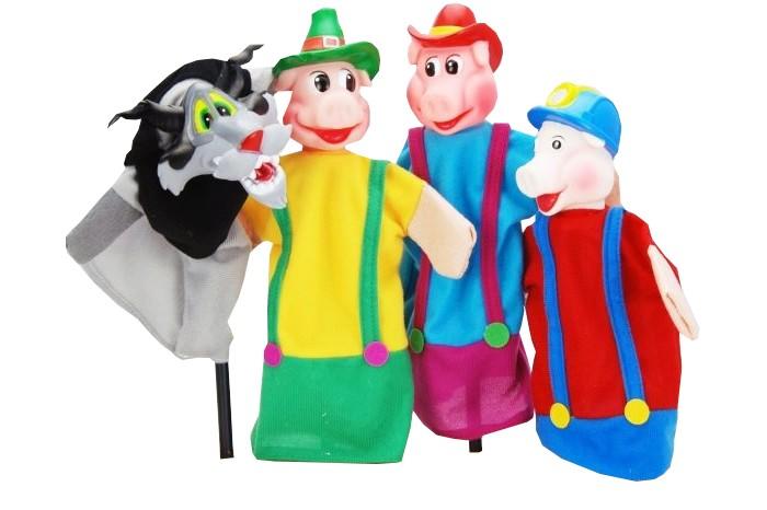 Кукольный театр три поросёнка 4 куклы
