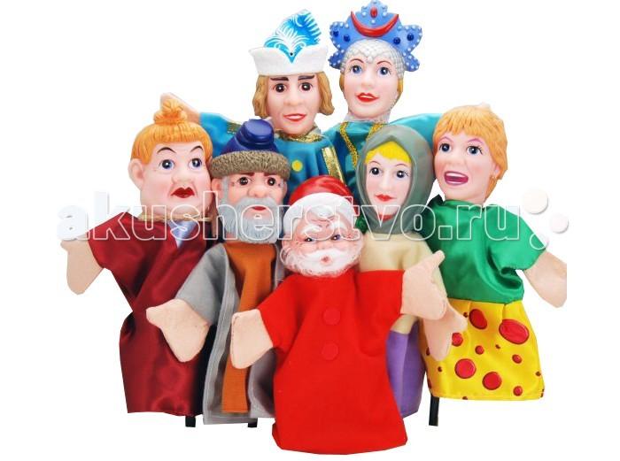 Жирафики Кукольный Театр Морозко (7 кукол)