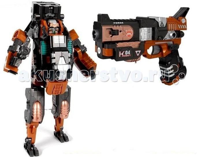Интерактивная игрушка Zhorya Робот-трансформер Кибер Пушка К04