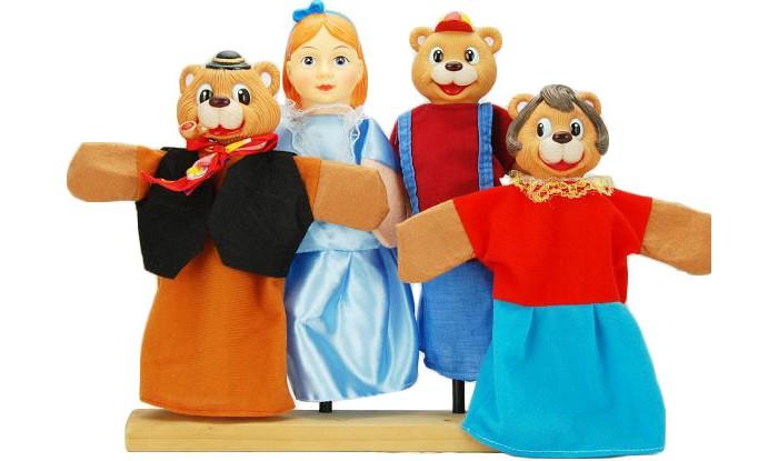 Жирафики Кукольный Театр Три медведя (4 куклы)