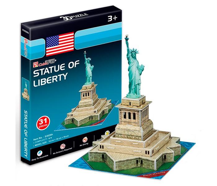 Конструктор CubicFun 3D пазл Статуя Свободы (США) мини серия3D пазл Статуя Свободы (США) мини серияCubicFun 3D пазл Статуя Свободы (США) мини серия.  28 октября 1886 года президент Гроувер Кливленд от имени американского народа принял преподнесенную в дар статую и сказал: «Мы всегда будем помнить, что Свобода избрала это место своим домом, и алтарь ее никогда не покроет забвение».  Функции: - помогает в развитии логики и творческих способностей ребенка - помогает в формировании мышления, речи, внимания, восприятия и воображения - развивает моторику рук - расширяет кругозор ребенка и стимулирует к познанию новой информации.  Практические характеристики: - обучающая, яркая и реалистичная модель - идеально и легко собирается без инструментов - увлекательный игровой процесс - тематический ассортимент - новый качественный материал (ламинированный пенокартон).<br>