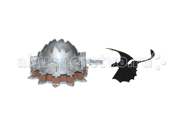 Dragons Игровой Набор для битв Как приручить драконаИгровой Набор для битв Как приручить драконаС помощью наборов для битв можно воспроизвести масштабные сцены из мультфильмаКак приручить дракона. Драконам придется проявить силу и смекалку, чтобы победить страшные боевые машины и не попасть в ловушку!  Дракон Беззубик и боевая машина. Поместите дракона внутрь боевой машины и нажмите рычаг – Беззубик катапультируется прежде, чем ловушка успеет захлопнуться!  Дракон Престиголов и боевая машина. Двуглавый арбалет на колесах преследует зеленого дракончика и хочет поразить его снарядом! Спасите Престиголова от этой опасной ловушки!  В ассортименте наборы с Громгильдой, Кривоклыком и другими полюбившиеся героями.  В ассортименте 4 набора на выбор В каждый набор входит 1 дракон 1 функциональная боевая машина Длина фигурки дракона- 5 см Длина орудия – 10 см<br>