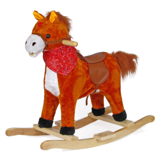 Качалки-игрушки Jolly Ride Лошадка Ковбой 1492-3
