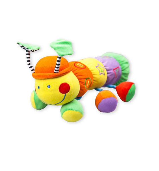 Подвесная игрушка Жирафики Гусеница
