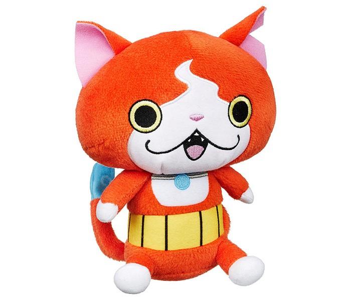 Мягкая игрушка Hasbro Yokai Watch Йо-кай Вотч: ПлюшYokai Watch Йо-кай Вотч: ПлюшПлюшевая игрушка персонажа популярного мультфильма Yo-Kai Watch – отличный выбор для каждого его поклонника!   Этот мультфильм рассказывает о мальчике Нейте, который случайным образом узнает, что мир населен духами, незримыми для людей, но их можно увидеть с помощью специального устройства. Множество духов, как вполне безобидных, так и злых, предстоит встретить мальчику!  В ассортименте представлены несколько персонажей мультфильма – как добрых духов, так и злых.   Игрушка выполнена из высококачественных материалов, мягкая и очень приятная на ощупь.<br>