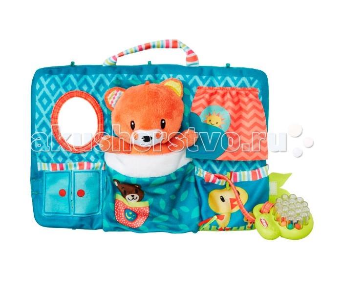 Развивающая игрушка Playskool Первые плюшевые друзьяПервые плюшевые друзьяПервые плюшевые друзья от всемирно известной компании Playskool - замечательная игрушка как для девочек, так и для мальчиков.   Этот очаровательный медвежонок сможет стать настоящим другом для вашего малыша!   Мишку можно положить в кармашек домика, выполненного из текстиля - таким образом, например, ребенок будет укладывать своего друга спать, что научит его заботе о близком и поощрит самостоятельность.  Игрушки Playskool отличаются исключительно высоким качеством исполнения. Они выполнены из высококачественных материалов, не содержащих токсинов и совершенно безопасны даже для самых маленьких детей.<br>