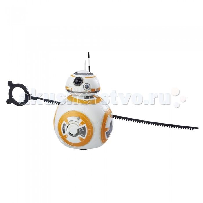 Star Wars Мобильный дроид Звездных ВойнМобильный дроид Звездных ВойнИгрушка Мобильный дроид и серии Звездные войны представляет собой игрушечного робота, который выполнен в соответствии с дизайном, разработанным при создании самого последнего из фильмов эпической хроники Звездные войны. Таким образом его дизайн наиболее современен и стилен. Но не только этот факт сможет сделать игрушку привлекательной для ребенка, а еще и ее функциональность.  Робота можно привести в движение. Достаточно подключить батарейки, поставить игрушку на горизонтальную поверхность и вынуть вытяжной трос, который фиксирует дроида ВВ-8.  Батарейки не входят в комплект к игрушке, но зато их можно приобрести отдельно. И тогда можно будет увидеть робота в действии, понаблюдать за его необычными движениями и услышать звук, который он издает.   Ребенок и сам сможет представить себя космическим путешественником или персонажем популярного кинофильма. А дроид ВВ-8 станет его игрушечным спутником в тех приключениях, которые навеет детская фантазия.  Тип батареек: 2 x AAA / LR0.3 1.5 (мизинчиковые).<br>