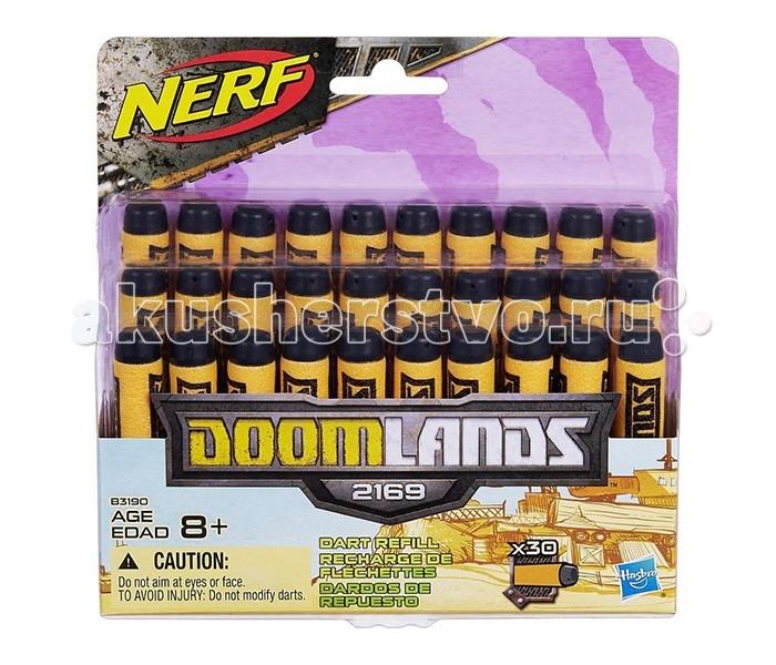 Nerf Hasbro Думлэндс 30 стрелHasbro Думлэндс 30 стрелСтрелы Нерф Думлэндс предназначены специально для бластеров серии Nerf Doomlands.   В набор входят 30 стрел ярко-оранжевого цвета с черным наконечником, на каждой расположена надпись, название серии - Doomlands. Благодаря яркому цвету вы сможете с легкостью найти стрелы после перестрелки в траве или на снегу.  Погрузись в атмосферу постапокалиптического будущего 2169 года: Земля превратилась в выжженную пустыню, повсюду - разруха и беззаконие. Вооружись бластером Нерф, запасись дополнительными зарядами и ступай на путь борьбы со злом!<br>