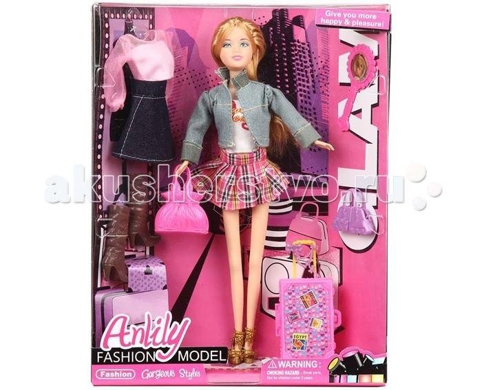 Игруша Кукла Fashion model с аксессуарами 29 смКукла Fashion model с аксессуарами 29 смКукла Fashion model с аксессуарами станет отличным подарком для девочки.  Играя с куклой она будет развивать фантазию и любознательность, воспитает чувство ответственности и заботы, овладеет навыками общения и научится ролевым играм.  Кукла является аналогом знаменитой куклы Barbie.<br>