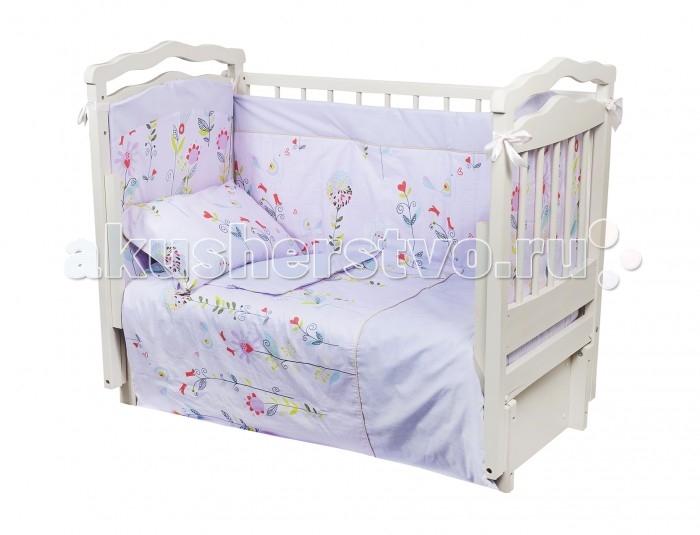 Комплект в кроватку Dream Time Цветочная фантазия (4 предмета)