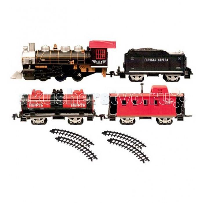 Железные дороги Голубая стрела с тремя вагончиками 184 см 87162