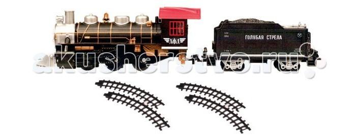 Железные дороги Голубая стрела с тремя вагончиками 124 см 87164