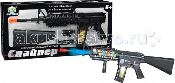 S+S Toys Игрушечное оружие Автомат на батарейкахИгрушечное оружие Автомат на батарейкахS+S Toys Игрушечное оружие Автомат на батарейках EL80123R  Автомат S+S Toys EL80123R - это автомат, который всегда заинтересует мальчиков. Модель создана из экологически чистых и безопасных материалов. Игрушка имеет световые и звуковые эффекты.<br>