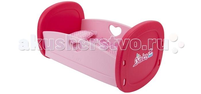 Кроватка для куклы Игруша Кроватка для куклы с аксессуарами в набореКроватка для куклы с аксессуарами в набореКроватка для куклы с необходимыми аксессуарами идеально подойдет для сюжетно-ролевых игр с куклами как одной, так и в веселой компании друзей.   С помощью этой сборно-разборной кроватки ребенок в игровой форме развивает воображение, логическое мышление и моторику рук.  Все элементы кроватки и аксессуаров произведены из качественных и безопасных для здоровья материалов.<br>