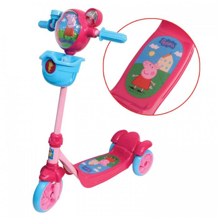 Самокат 1 Toy Peppa 3-х колесный
