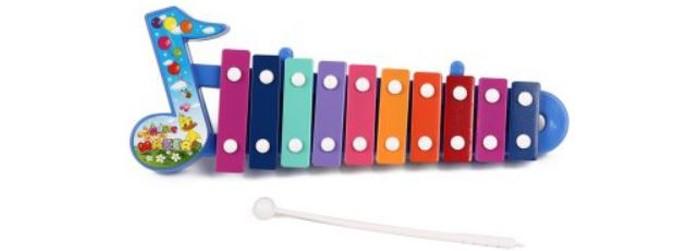 Музыкальная игрушка Игруша Ксилофон с музыкальной ноткой