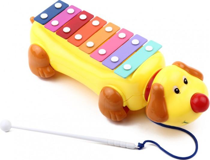 Музыкальная игрушка Игруша Ксилофон в виде собачки