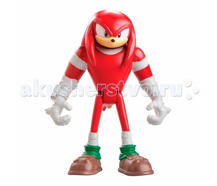 Sonic Boom Фигурка Наклз 7.5 смФигурка Наклз 7.5 смГерои суперпопулярных видеоигр 90-х годов возвращаются! Появившись на игровых консолях более 25 лет назад, Соник и другие персонажи серии остаются столь же узнаваемыми и любимыми, как детьми, так и вполне взрослой аудиторией. Вы можете купить замечательную фигурку одного из главных героев серии компьютерных игр, комиксов и мультсериалов «Ёж Соник» (Sonic the Hedgehog) – сверхсильной ехидны Наклза.  Красная ехидна по имени Наклз – лучший друг легендарного сверхскоростного ежа Соника и лиса Тейлза, самый сильный герой серии игр и мультфильмов о Сонике и его друзьях.   Он очень серьёзен, целеустремлен, предан друзьям. Обладает не только невероятной силой, но и сверхспособностью парить в воздухе.  Игрушечная фигурка ехидны Наклза выглядит точно также, как и многими любимый анимационно-компьютерный персонаж.   Высота игрушки около 7.5 см, фигурка выполнена из пластика, имеет несколько точек артикуляции (подвижные ручки, ножки, голова). Упакована в красочную коробку-блистер с изображением Соника, главного героя серии.<br>