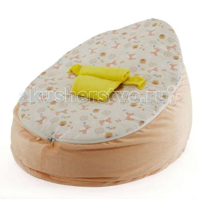 Tutti Bambini Пуф Woodland WalkПуф Woodland WalkНовый мягкий пуф от Tutti Bambini – комфорт для малыша и стильный аксессуар для детской комнаты. Пуф можно использовать с момента, когда ребёнок только начинает сидеть – сначала не забудьте пристегнуть малыша специальными трёхточечными ремнями безопасности. Когда ребёнок начнёт сидеть более уверенно, а его спинка достаточно окрепнет, верхний чехол с ремнями можно снять и использовать пуф как обычное мягкое кресло.   Основные характеристики:  - мягкий уютный пуф для малышей;  - соответствует всем британским стандартам безопасности в производстве детских товаров;  - подходит для детей с 6 месяцев;  - съёмный моющийся чехол и трёхточечный ремень безопасности – для самых маленьких;  - когда малыш подрастёт и начнёт сидеть уверенно, верхний чехол с ремнями можно отстегнуть;  - размер пуфа: 56х36х58 см.<br>