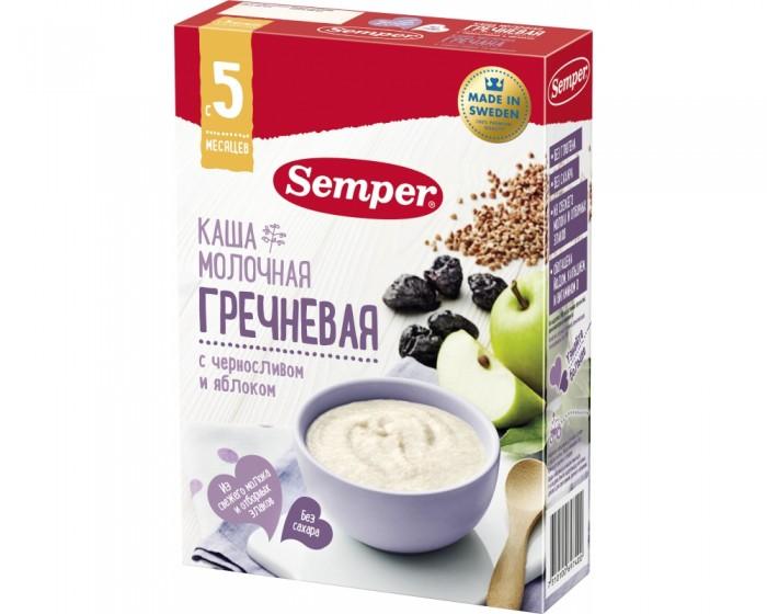 Semper Молочная гречневая каша с черносливом и яблоком с 5 мес. 200 г
