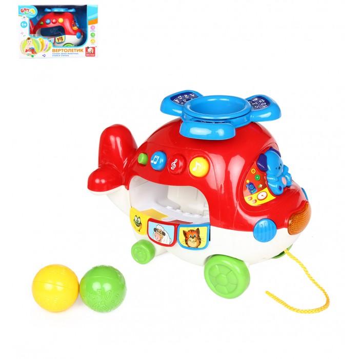 S+S Toys Игрушка Вертолетик на батарейкахИгрушка Вертолетик на батарейкахS+S Toys Игрушка Вертолетик на батарейках ES-838-30  Развивающая игрушка Вертолетик от компании S+S Toys поможет развить свой кругозор. Все элементы набора выполнены из качественных и безопасны материалов. Со световыми и звуковыми эффектами.  Размер игрушки: 25 х 18 х 13 см.<br>