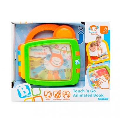 Книжки-игрушки B kids Развивающая книга Bebee и друзья