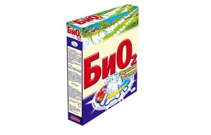 БиО2 Стиральный порошок Ручная стирка Супер Эконом 400 г