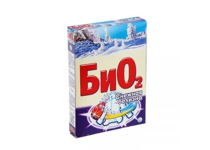 БиО2 Стиральный порошок Ручная стирка Снежная Белизна 400 г
