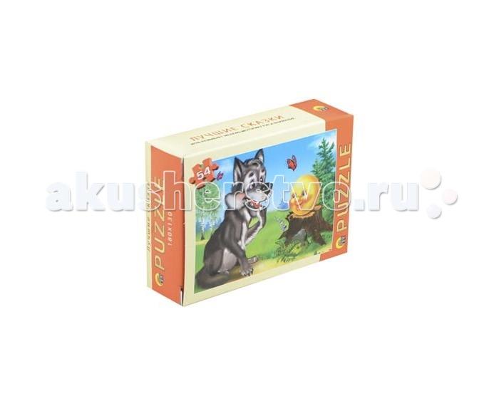 Рыжий кот Пазл Лучшие сказки 54 элементовПазл Лучшие сказки 54 элементовПазлы Рыжий кот Лучшие сказки  Популярная занимательная игра, которая развивает мелкую моторику рук, память, внимание посредством собирания яркой и красочной картинки, состоящей из мелких деталей.   Количество деталей: 54<br>