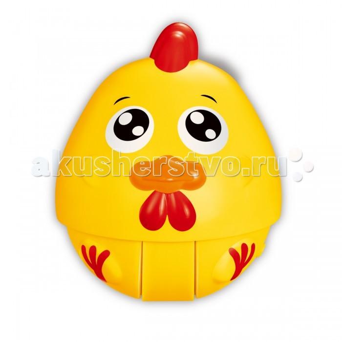 Развивающая игрушка Ути Пути хохотушка покатушка Цыпленок