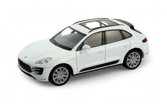Welly Модель машины 1:34-39 Porsche Macan TurboМодель машины 1:34-39 Porsche Macan TurboWelly Модель машины 1:34-39 Porsche Macan Turbo  Модель машины от Welly выполнена в точном соответствии с оригиналом.   Все модели машинок Велли очень точные, потому что создаются по лицензии автопроизводителя.   У машинки открываются двери.  Масштаб - 1:34.<br>