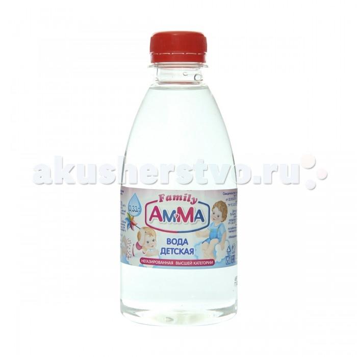 Amma Вода питьевая негазированная 0.33 л