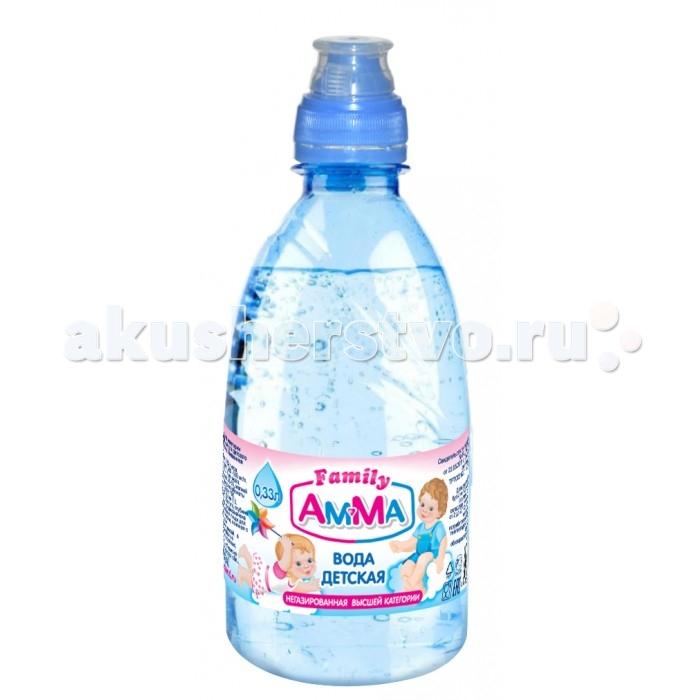 Amma Вода питьевая негазированная  спорт-кэп 0.33 л