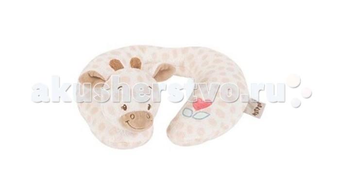 Nattou Подголовник Neck pillow Jack Charlotte  Rose Жираф