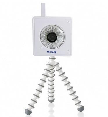 Видеоняни Miniland IP камера Everywhere IPcam