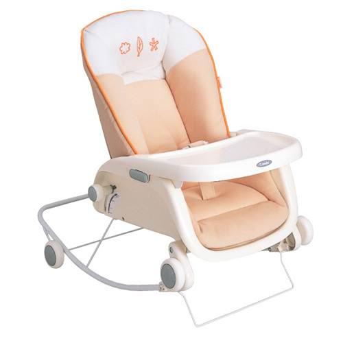 Кресла-качалки, шезлонги Combi Кресло-шезлонг + столик для кормления Purumea S