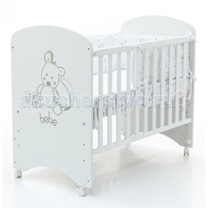 Детская кроватка Micuna Babies 120x60 с матрацем CH-620Babies 120x60 с матрацем CH-620Micuna Babies 120x60  Micuna Babies: трогательная забота   Новая кровать Micuna Babies выполнена специально по заказу Lapsi: максимальная функциональность, простая форма, белоснежный цвет – эта кроватка идеально подойдёт как для мальчика, так и для девочки, прекрасно впишется как в современную детскую комнату, так и в классический интерьер. Переднюю панель кровати украшает рисунок трогательного медвежонка, который украсит комнату малыша и будет радовать его каждый день.   Кроватки испанской компании Micuna изготавливаются в Валенсии из экологически чистых материалов. В первую очередь, это бук – традиционное дерево для мебели и музыкальных инструментов. Элементы из МДФ – материала, созданного без применения эпоксидных смол и фенола на основе природного полимера лигнина, дополняют конструкцию. Краски и лак, которыми покрывают кроватки, приготовлены из натуральных компонентов и не создают вредных испарений.   Основные характеристики:  бортик кроватки опускается;  ложе регулируется по высоте – 3 позиции;  посредством снятия бортика кроватка легко превращается в диванчик;  колёсики с блокирующим стопором;  материал: бук, МДФ;  закрытые шурупы и болты;   установка кровати на ящик-маятник CP-1688 не предусмотрена;  в комплект не входит ящик для кровати.   Размеры:  кроватка (ДхВхШ): 121x100х66 см;  матрас: 117х57 см;  постельное бельё: 120х60 см (в комплект не входит, приобретается дополнительно).<br>