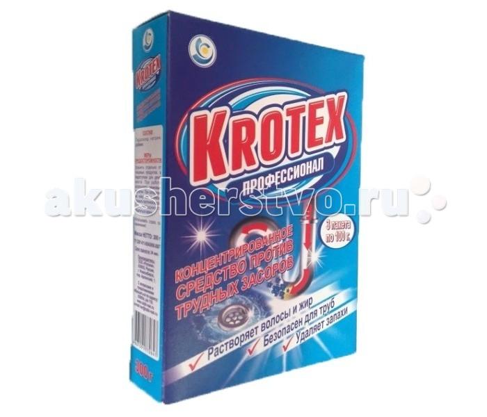 Krotex Средство против засоров 300 г