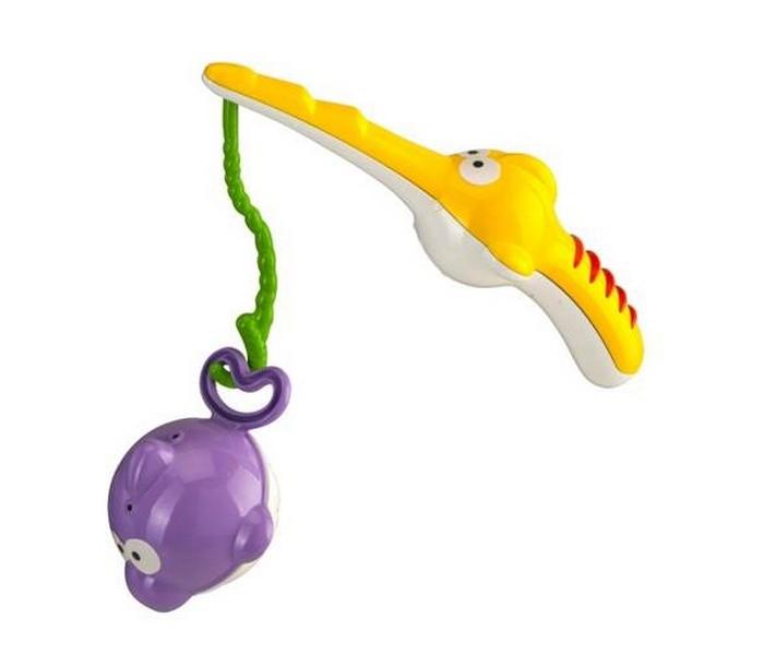 B kids Игровой набор для купания РыбалкаИгровой набор для купания РыбалкаB kids Игровой набор для купания Рыбалка 004850B  Игровой набор для купания «Рыбалка» превратит процесс мытья в забавную игру. Малыши больше не протестуют против ванны!   Итак, у вас есть ярко-желтая удочка с удобным крючком, а также три ярких рыбки – фиолетового, красного и голубого цвета. Каждую из них можно поймать удочкой за хвост. Начните рыбалку прямо сейчас! Кто станет самым удачливым рыбаком? Кстати, на брюшках рыб есть отверстия: можно наполнять рыбку и выливать из нее воду сквозь дырочки, такая забава очень нравится малышам.   Такую игрушку можно дать ребенку старше 1 года.<br>