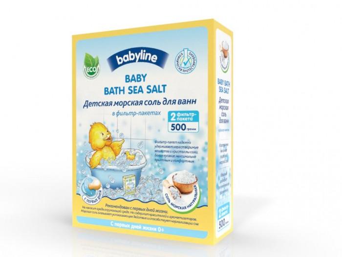 Babyline nature Соль морская Натуральная для ванн 2 шт фильтр-пакета 500 г