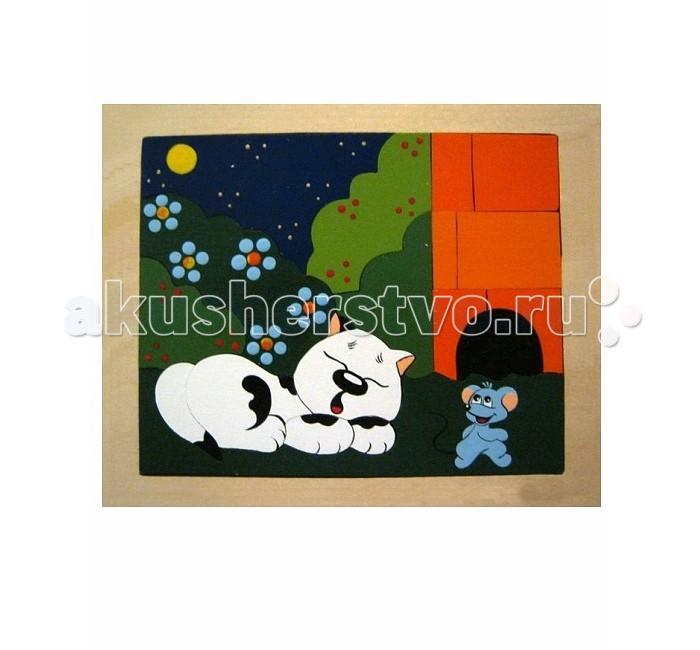 Vilac Мозаика-вкладыш Хитрый мышонок (двухсторонняя)Мозаика-вкладыш Хитрый мышонок (двухсторонняя)Эта мозаика от компании производителя Крона не только очень качественная, так как выполнена из экологически чистого натурального дерева (берёза), но и совершенно уникальна. Малыш наверняка удивится, ведь если собирать картинку на одной стороне, а потом перевернуть игрушку, то там будет продолжение сюжета.<br>