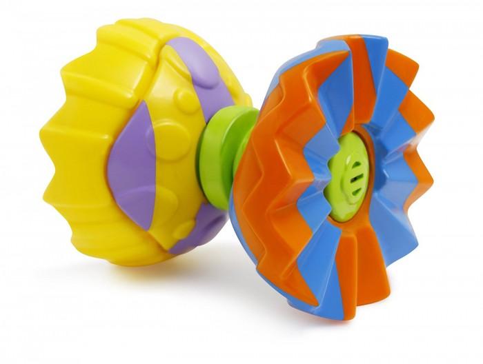 Развивающая игрушка B kids Шар-конструкторШар-конструкторB kids Набор игровой Шар-конструктор 004338B  Оригинальный игровой набор «Шар-конструктор», выпущенный брендом Bkids, понравится тем, кто предпочитает многофункциональные игрушки, предлагающие малышу сразу несколько вариантов активностей на выбор.   Выполненный из прочного пластика разных цветов этот шар может разбираться и превращаться: в юлу, пирамидку или каталку в зависимости от того, как вы соедините его детали. Такая игра активизирует творческие и логические способности ребенка.   Такая игрушка предназначается для детей в возрасте старше 6 месяцев.<br>