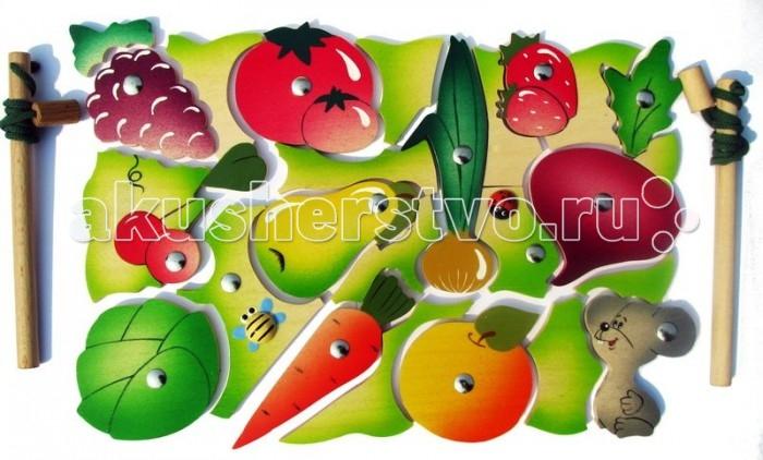Vilac Магнитная мозаика Во саду ли в огородеМагнитная мозаика Во саду ли в огородеМозаика с разнообразными фруктами и овощами в огороде, которые нужно выловить с помощью удочки на магните. Яркая мозаика познакомит ребенка с тем, какие овощи и фрукты растут на грядках, научив его различать их, улучшит развитие моторики, координации движения и память. Это увлекательная игра, которая выполняет еще обучающую задачу.  Основные характеристики:   Размер упаковки: 21 x 29.5 x 2 см Вес: 416 г Количество элементов: 26 шт.<br>
