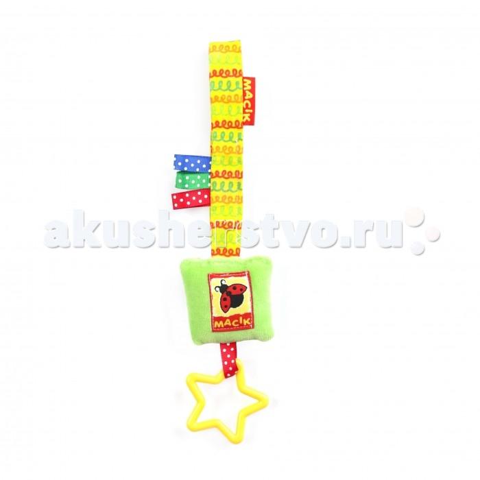 Подвесная игрушка Macik на липучке Погремушка