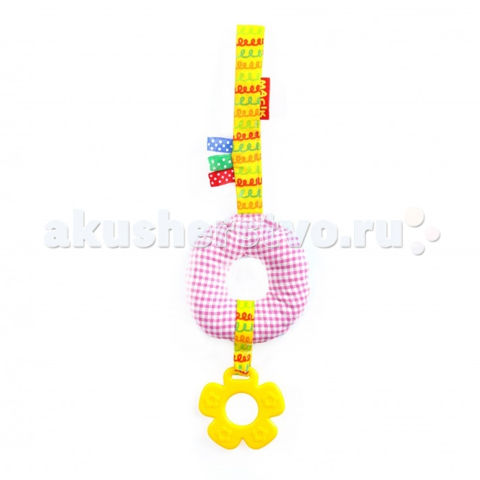 Подвесная игрушка Macik на липучке Прорезыватель