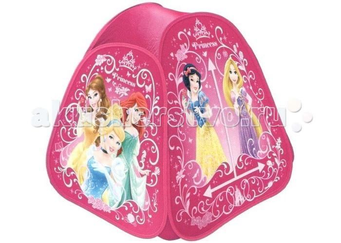 Играем вместе Дисней игровая палатка Принцессы Диснея (дом)Дисней игровая палатка Принцессы Диснея (дом)Играем вместе Дисней игровая палатка Принцессы Диснея (дом) домик для настоящей принцессы!  Палатка сделана из прочного текстиля и прослужит вам максимально долгий срок.  Благодаря своей легкости и компактным размерам в сложенном виде палатку легко перевозить и хранить. Палатку можно использовать для игр в саду или дома.  Размер: 81 х 91 х 81 см<br>