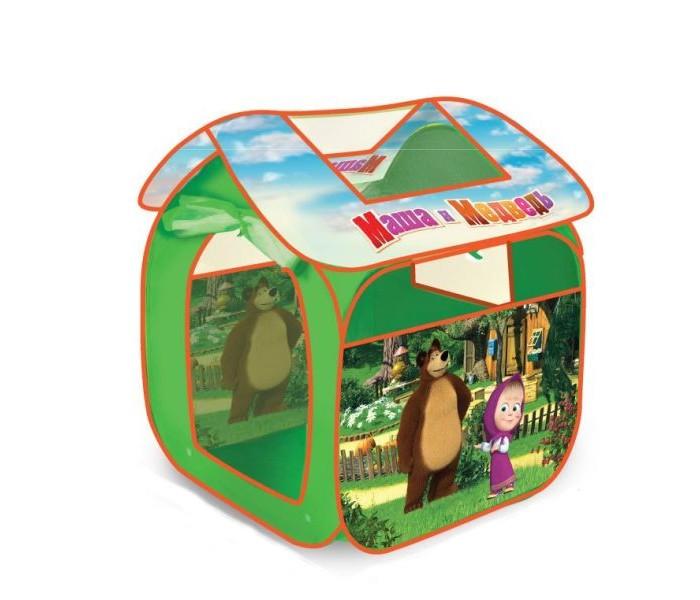 Играем вместе Дисней игровая палатка Маша и Медведь 83х80х105см