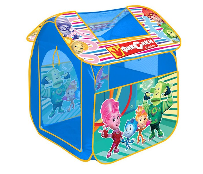 Играем вместе Дисней игровая палатка Фиксики 83х80х105см
